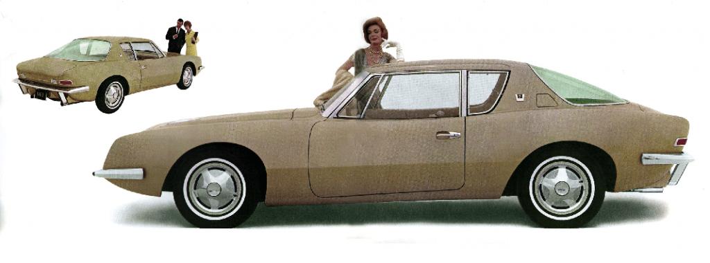 Studebaker Avanti brochure